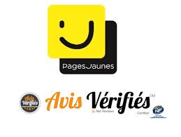 Logo pages jaunes avis vérifiés 5 étoiles