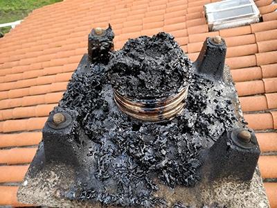 Bistre cheminée danger
