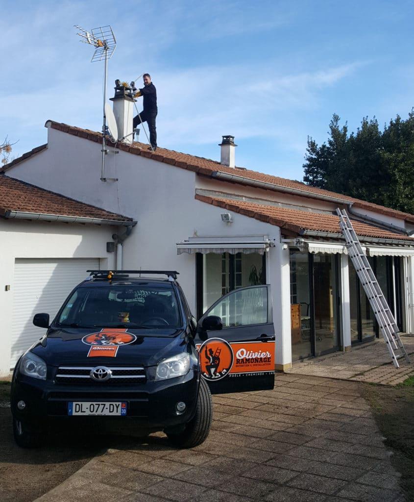 ramonage par le toit
